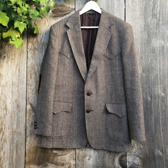 Levi's Vintage Western Herringbone Sports Coat